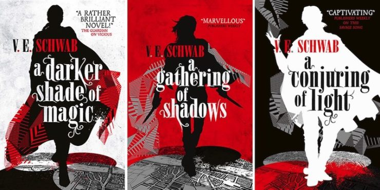 Revealing the UK Cover for V.E. Schwab's A Conjuring of Light | Tor.com
