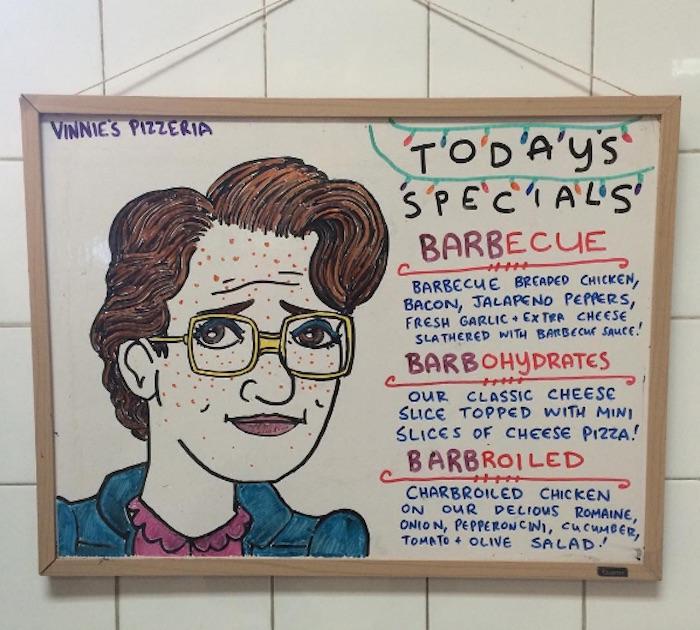 Vinnie's Pizza Barb