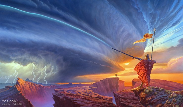 The Way of Kings cover art wallpaper Michael Whelan