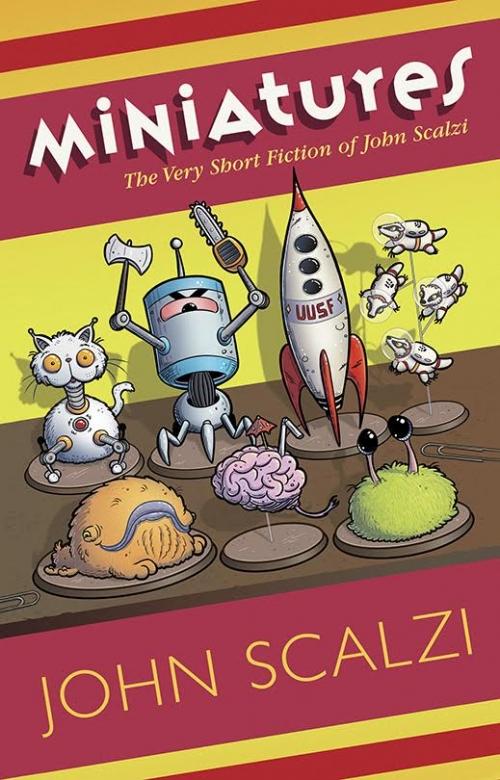 John Scalzi Miniatures cover Subterranean Press