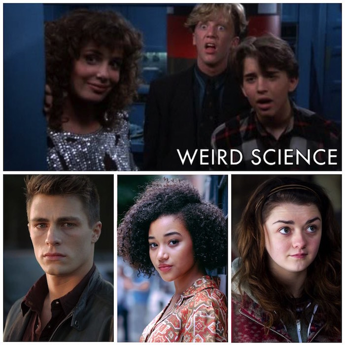 weird science recast