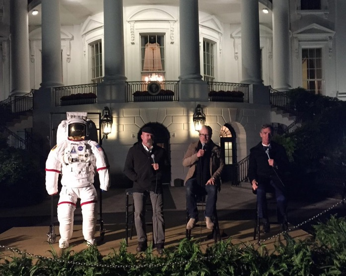 White House Astronomy Night Bill Nye Jamie Hyneman Adam Savage