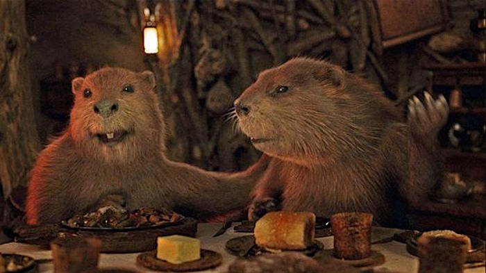 Mr. and Mrs. Beaver in The Lion, The Witch, and the Wardrobe