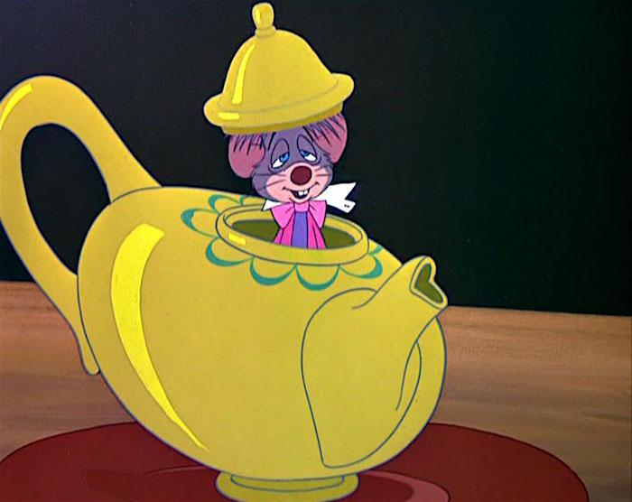 Dormouse in Alice in Wonderland