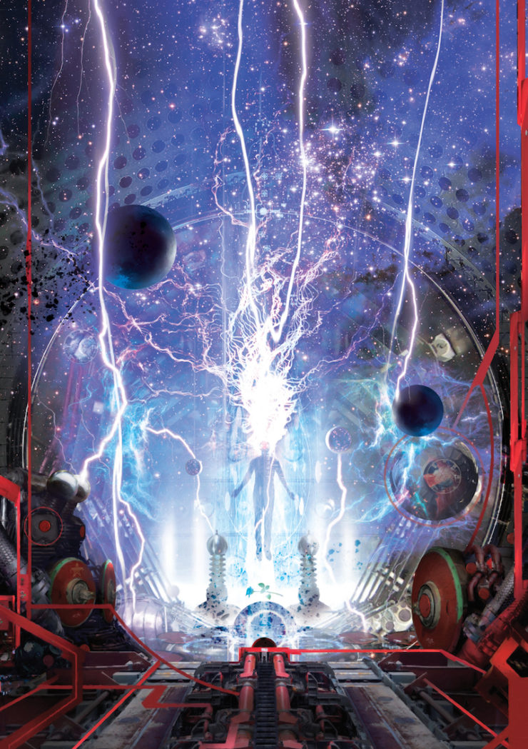 Ball Lightning Cixin Liu cover reveal Joel Martinsen military SF standalone Stephan Martiniere