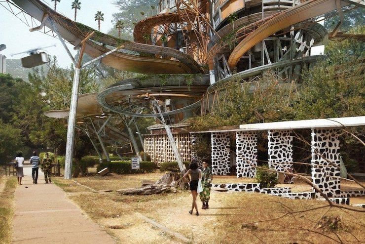 Olalekan Jeyifous, Shanty Mega-structures