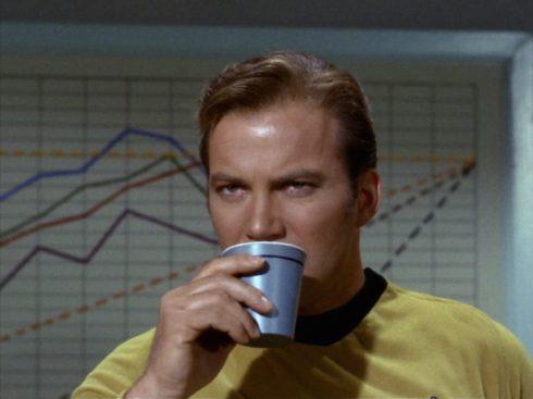 Kirk Star Trek coffee graph