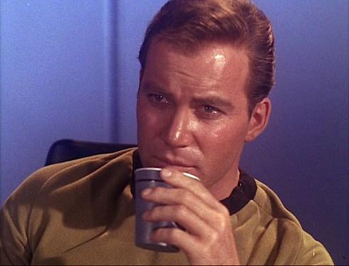 Star Trek Kirk coffee