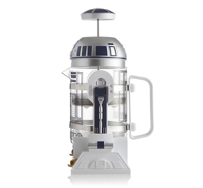R2-D2 Coffee Press side view