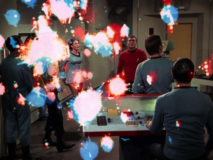 Star Trek the original series, season 3, The Lights of Zetar