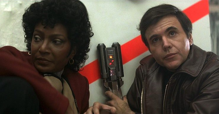 Star Trek, Chekov and Uhura