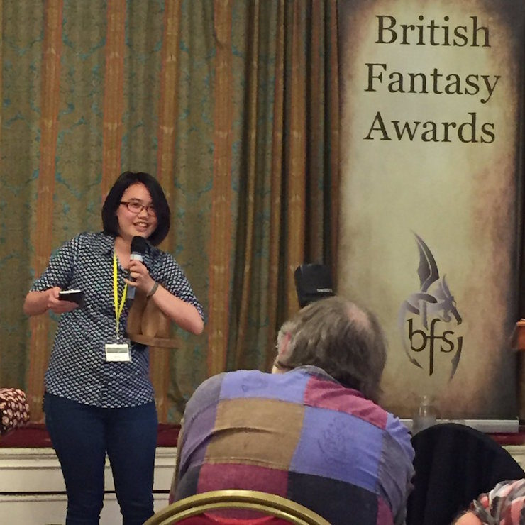 Zen Cho British Fantasy Award Best Newcomer Sorcerer to the Crown