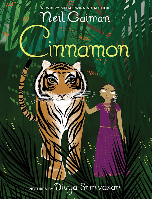 Cinnamon by Neil Gaiman, art by Divya Srinivasan