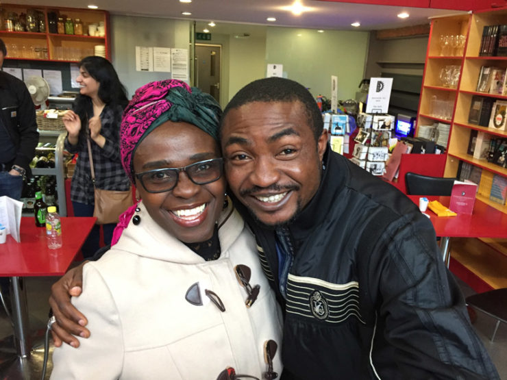 Jennifer Nansubaga Makumbi and Abubakar Ibrahim