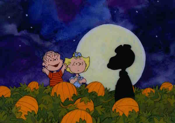 Snoopy as The Great Pumpkin
