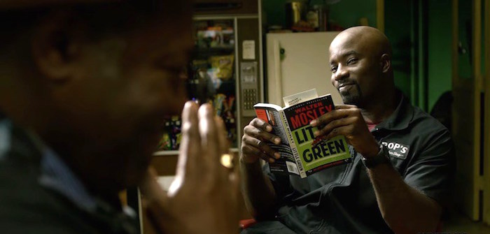 Luke Cage and Walter Mosley