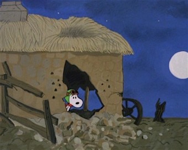 Snoopy in No Man's Land