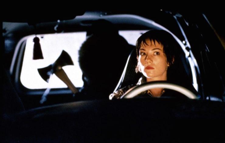 Urban Legends movie hitchhiker backseat axe