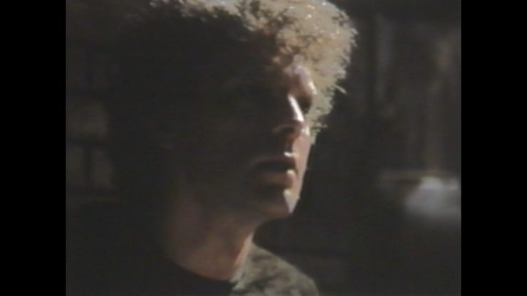 Brad Dourif in the original version of the film; this is the best quality footage of these scenes available.