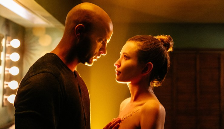Shadow and Laura Moon in American Gods