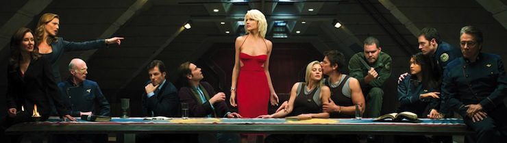 Battlestar Galactica, last supper