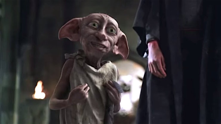 Dobby, Harry Potter and the Chamber of Secrets, sock