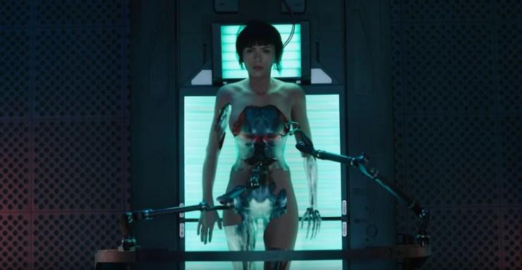 Ghost in the Shell trailer Scarlett Johansson