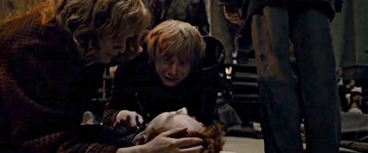 Molly Weasley Fred's Death