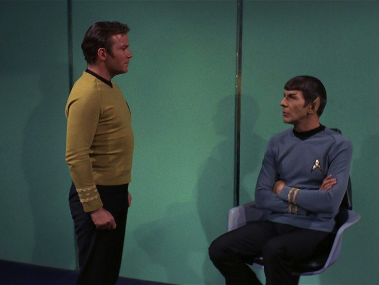 Star Trek, the original series, season 3, The Turnabout Intruder