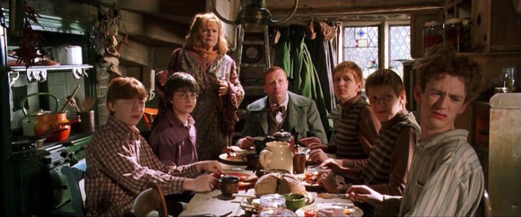 Weasleys kitchen