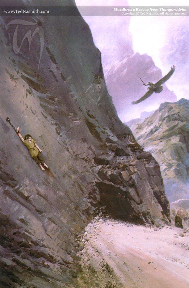 Maedhros's Rescue from Thangorodrim
