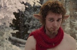 James McAvoy IS Tumnus in The Lion, The Witch, and the Wardrobe