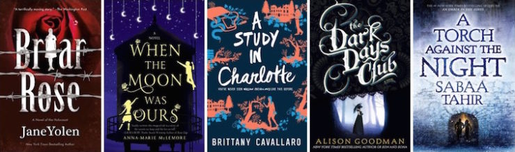 best YA SF/F of 2016 honorable mentions