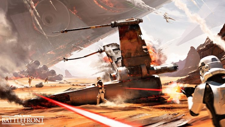 Star Wars Battlefront Jakku