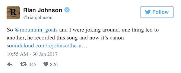 Rain Johnson on Twitter