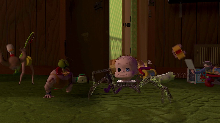 Sid's toys in Pixar's Toy Story