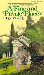 A Fine and Private Place Peter S. Beagle