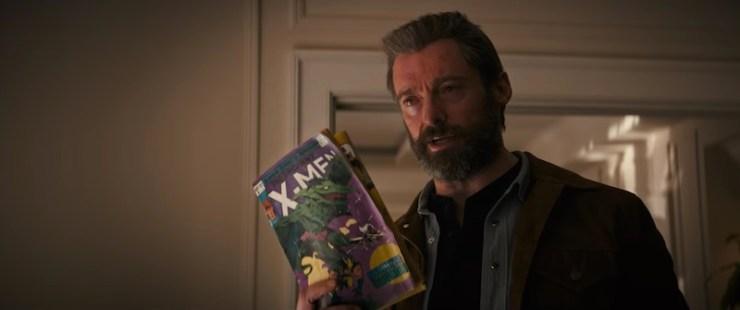 final Logan trailer X-Men comics
