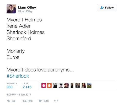 Sherlock, The Lying Detective, season 4, twitter theory