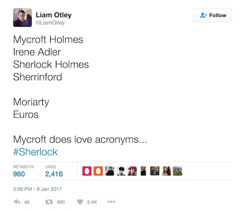 Sherlock, The Lying Detective, season 4, twitter theory