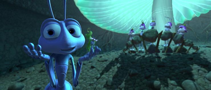 Flik in Pixar's A Bug's Life