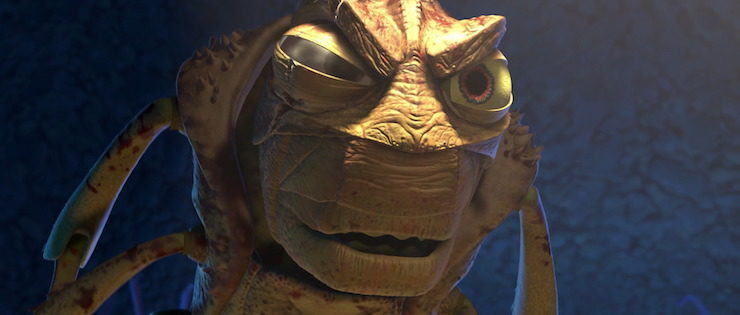 Hopper (voiced by Kevin Spacey) in Pixar's A Bug's Life