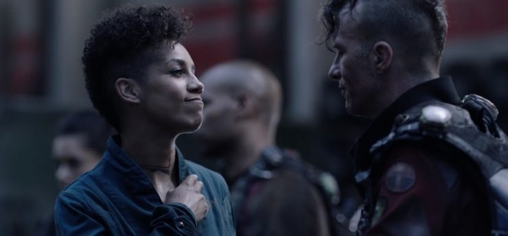Miller and Naomi on The Expanse