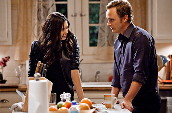 """Founder's Day"" - Nina Dobrev as Katherine, David Anders as Johnathan Gilbert in THE VAMPIRE DIARIES on The CW. Photo: Bob Mahoney/The CW ©2010 The CW Network, LLC. All Rights Reserved."