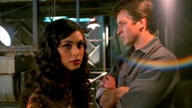 romance in SFF Firefly Mal Inara Objects in Space