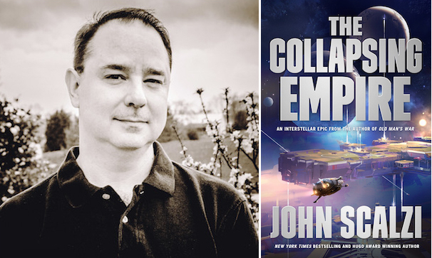 John Scalzi The Collapsing Empire author tour dates