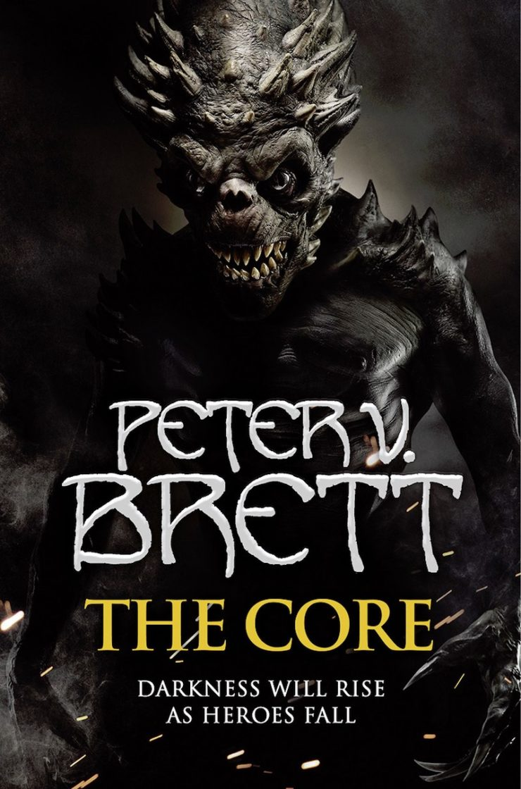 The Core demon cover Peter V. Brett
