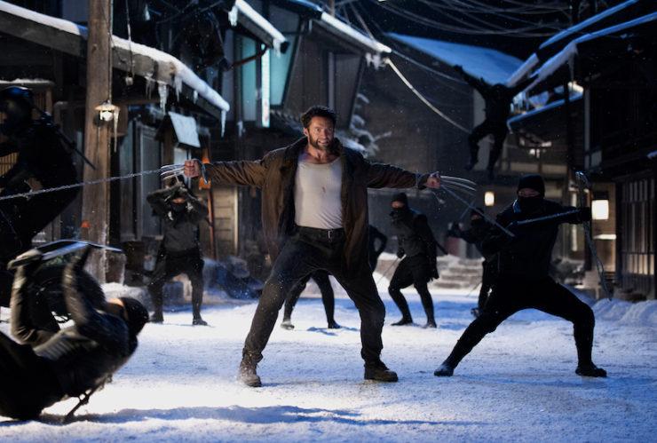 The Wolverine movie ninjas