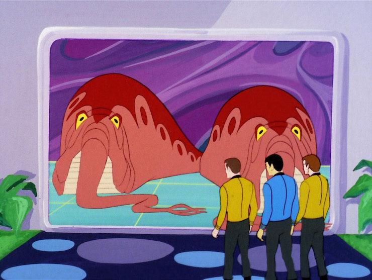 Star Trek, The Eyeof the Beholder, the animated series