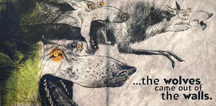 The Wolves in the Walls, Neil Gaiman, Dave McKean